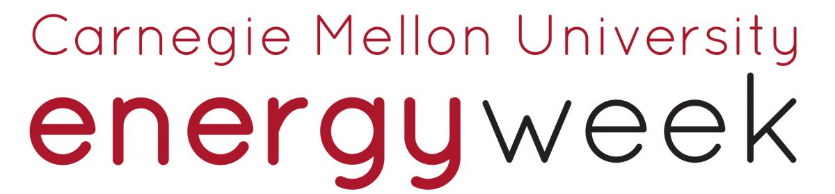 Carnegie Mellon University Energy Week 2019